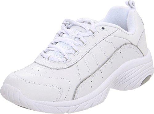 Easy Spirit Women's Punter Athletic Shoe,White/Light Grey,7.5 W from Easy Spirit