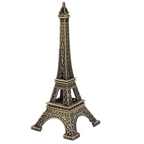 (VNDEFUL 1Pcs 13cm 5 Inch Height Vintage Style France Paris Eiffel Tower Statue Model Ornament)