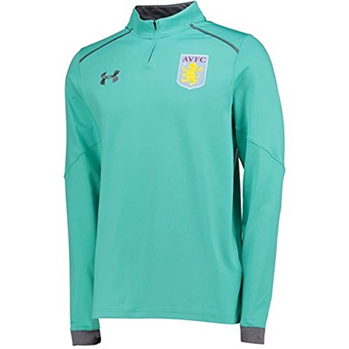 2017-2018 Aston Villa Half Zip Training Top (Mosiac) Aston Villa Training