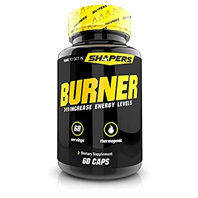 SHAPERS Fat Burner - Weight Loss Supplement, Appetite Suppressant, & Energy Booster - Premium Fat Burning Acetyl L-Carnitine, Green Tea Extract, & More - 60 Natural Diet Pills(1 Month Supply)
