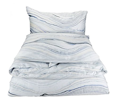 Calvin Klein Home Quartz Duvet Set, King, Fog, 3 Piece
