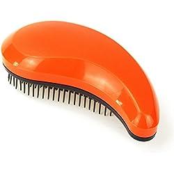 Detangling Hair Brush, Detangler Hair Brushes Comb Effective for Women Men & Kids Use in Wet and Dry Hair (Orange)