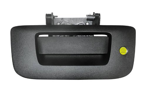 693194 Black Replacement Tailgate Lock - 07-13 Silverado/Sierra Complete Locking Tailgate Handle Assembly