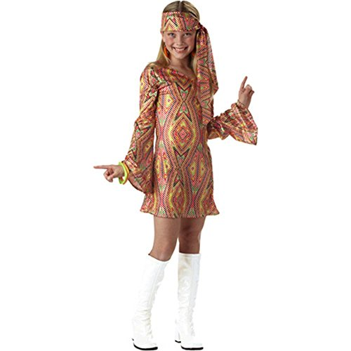 Disco Child Dolly (Disco Dolly Kids Costume - Large)