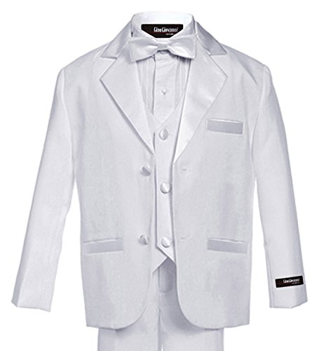Gino Giovanni Usher Tuxedo Boy White From Baby to Teen