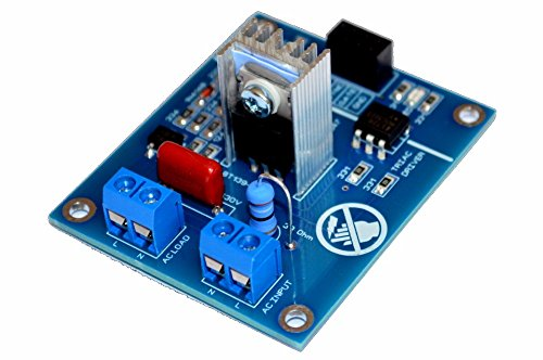 (Ac Programmable Light Dimmer Module Controller Board For Arduino Raspberry Compatible 50/60hz With Heat Sink And Snubber)