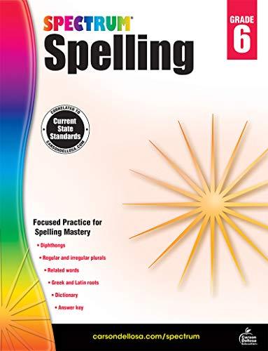 Carson-Dellosa Spectrum Spelling Workbook, Grade 6 ()