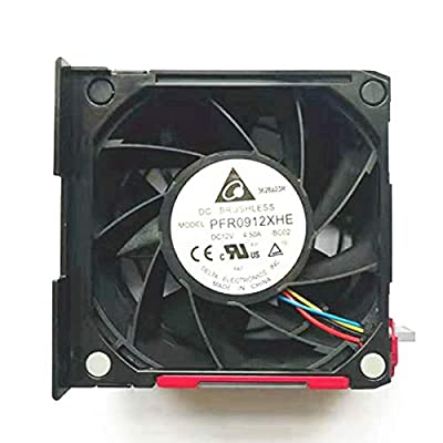 QUETTERLEE Replacement CPU Cooling Fan Compatible HP ProLiant ML350P G8 ML350P GEN8 92mm Fan 661332-002 667254-001 PFR0912XHE BC02 Fan