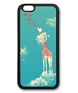Head in the Clouds Custom Personalized Design DIY Back Case for iPhone 6 4.7 Black -319