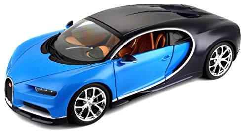 1:18 Bugatti Chiron (Colors May Vary) (1 18 Diecast Car Bugatti)