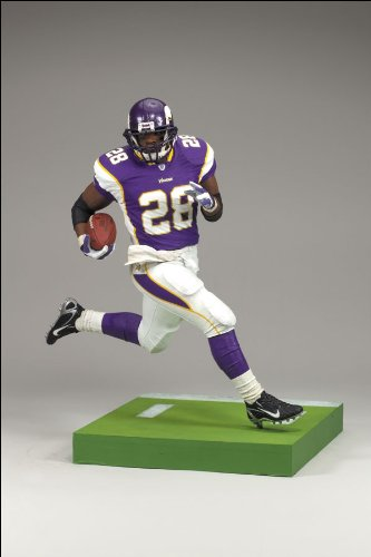 new arrival 436b2 8d565 Adrian Peterson #28 Minnesota Vikings Black Wrist Tape Chase Alternate  Variant McFarlane NFL Series 18 Wave 2 Action Figure