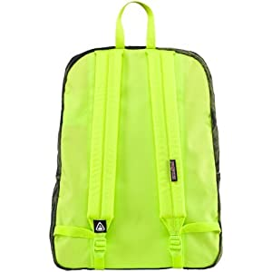 "JanSport Stormy Weather Backpack - Overdye Green - 16.7""H x 13""W x 8.5""D"