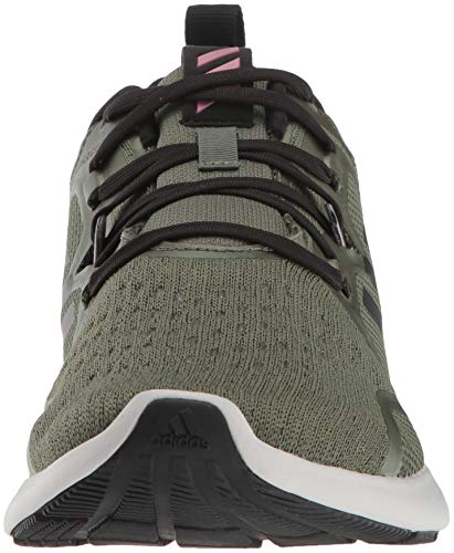 adidas Women's EdgeBounce Running Shoe Base Green/Black/Trace Maroon 5 M US by adidas (Image #4)