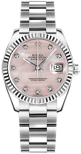 Rolex Lady Datejust 178274 Pink Dial w/Diamond Hour