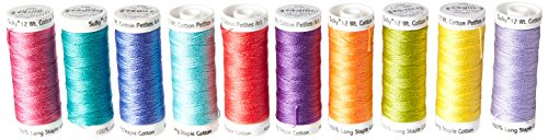 - Sulky 712-34 Summer Collection Crossroads Cotton Petites 12 Weight , 10 Pieces Per Pack, Multicolor