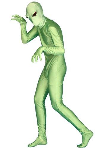 Green Alien Skin Suit - Green Alien Skin Suit