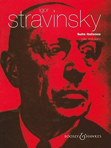 Suite Italienne: ausPulcinella. Violoncello und Klavier. Musiknoten – 1. Januar 2000 Gregor Piatigorsky Igor Strawinsky Boosey & Hawkes London