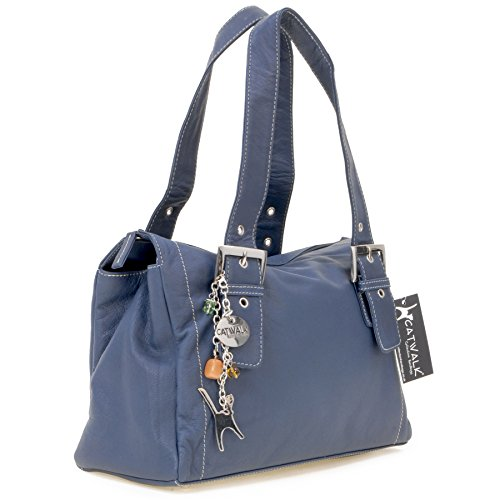 cuir Catwalk signé Marine Jane en Sac Collection Bleu B6q5RR