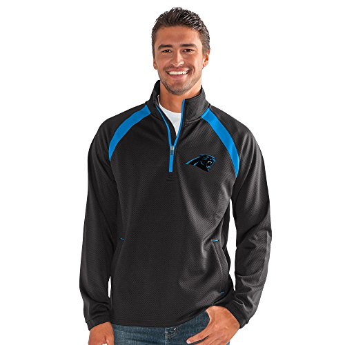 - G-III Sports by Carl Banks Adult Men High Impact Half Zip Pullover, Black, 3X