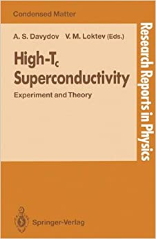 High-Tc Superconductivity: Experiment and Theory (Research Reports in Physics)