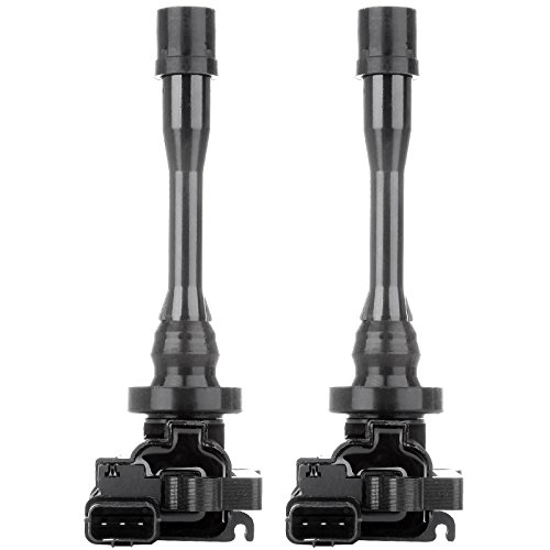 ECCPP Ignition Coils Pack of 2 Compatible with Chrysler Sebring Dodge Stratus Mitsubishi Outlander/Eclipse/Galant/Lancer/Mirag 1997-2008 Replacement for - Lancer Mitsubishi Coil Ignition