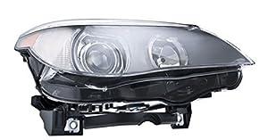 HELLA H11077021 BMW 5 Series E60/E61 Passenger Side Headlight Assembly by HELLA