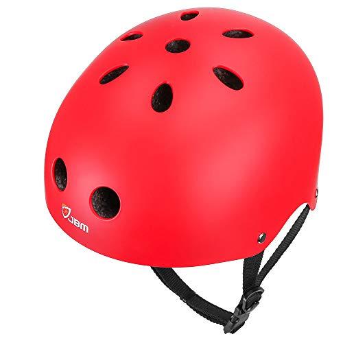 - JBM Skateboard Helmet CPSC ASTM Certified Impact Resistance Ventilation for Multi-Sports Cycling Skateboarding Scooter Roller Skate Inline Skating Rollerblading Longboard