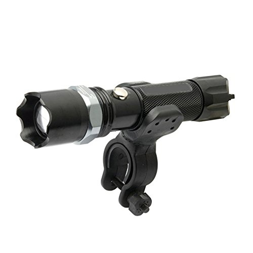 Mini 240LM LED Bicycle Light New Bike Light 2017 Front Torch Lamp Rechargeable by Isguin (Image #1)