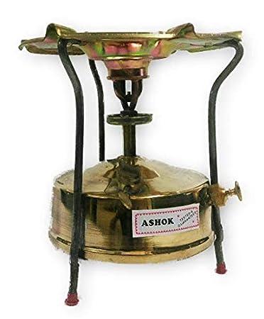 Amazon.com: Jumbo latón queroseno presión estufa Camping al ...