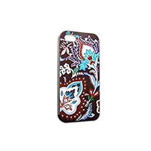 Unique Design Dull Polish (3 in 1) Phone Case Cover For iphone 5 5S (Electra housing-V21)