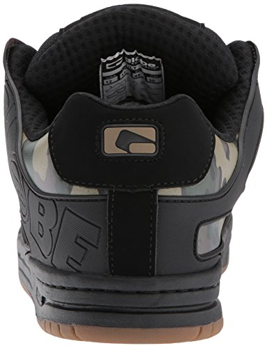 Globe Mens Tilt Pattino Nero / Camo