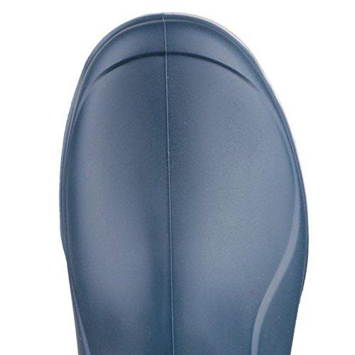 Azul Unisex Sintética Reino De Color Unido Piel Forro Con Dunlop Del Botas Invierno qgnSPxP8