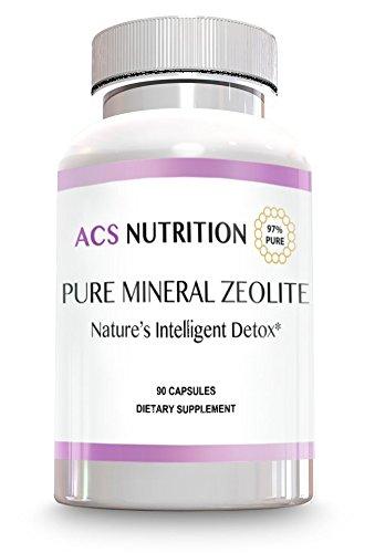 Pure Clinoptilolite Zeolite Powder - 97% Purity – Micronized - Detox Cleanse Dietary Supplement – 90 Servings