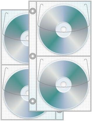 4 Disco mitad cartón CD/DVD página – Pack de 50: Amazon.es: Oficina y papelería