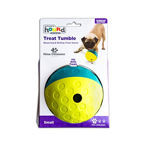 Treat Tumble Treat Dispensing Dog Toy Brain and Exercise Game for Dogs by Nina Ottosson
