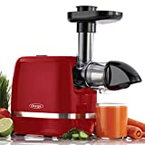 Omega H3000RED Juicer Cold Press 365 Slow