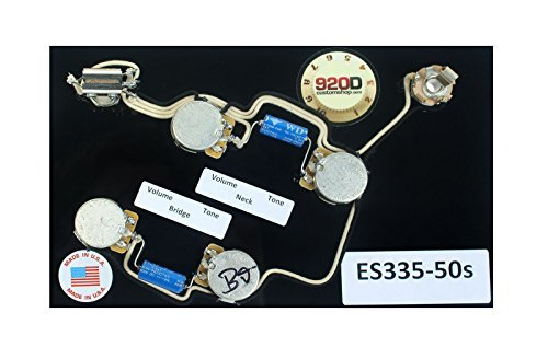 920D Custom ES335-50S Upgraded Replacement ES-335 Wiring with Paper-In-Oil Capacitors ()