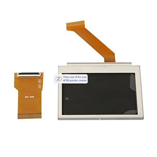 Timorn New for Gameboy Advanced GBA SP LCD Screen backlit Brighter Highlight AGS-101 Replacement (Sliver)