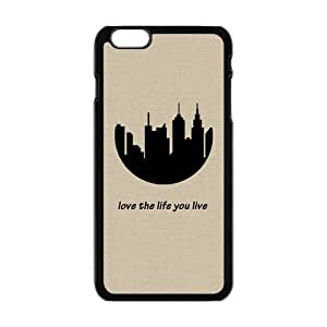 "Generic Customize Unique Otterbox--City Silhouette Plastic Case Cover for iPhone6 Plus 5.5"""