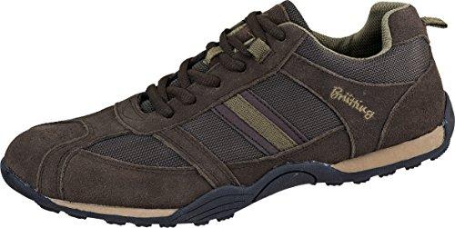 Brütting - Zapatillas para hombre Marrón - beige