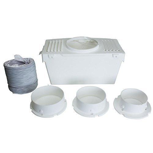 Condenser Vent Box & Hose Kit for Bush TDV6B TDV6S TDV6W Tumble Dryers (4