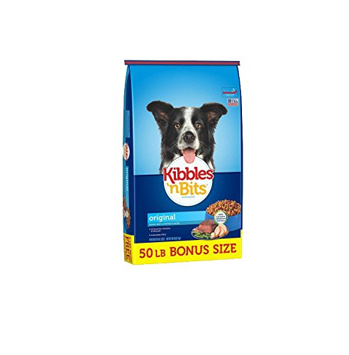 Kibbles 'n Bits Original Bonus Bag Dry Dog Food, 50 Lb