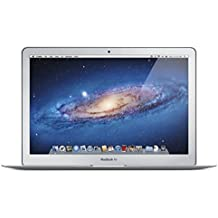 Apple MacBook Air MD760LL/A 13.3-Inch Laptop (Intel Core i5 Dual-Core 1.3GHz up to 2.6GHz, 4GB RAM, 128GB SSD, Wi-Fi, Bluetooth 4.0, Thunderbolt Port, Razor Thin) (Refurbished)