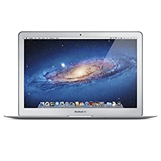 Apple MacBook Air MD760LL/A 13.3-Inch Laptop (Intel Core i5 Dual-Core 1.3GHz up to 2.6GHz, 4GB RAM, 128GB SSD, Wi-Fi, Bluetooth 4.0, Thunderbolt Port, Razor Thin) (Renewed)