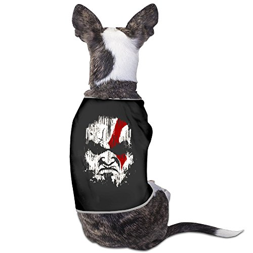 [Kratos God Of War Puppy Shirt Fancy Fits Small Dogs.] (Costumes Kratos)