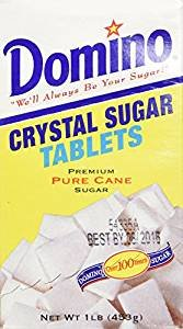 Domino Crystal Sugar Tablets Kosher For Passover 16 Oz. Pack Of 6. Domino Chocolate