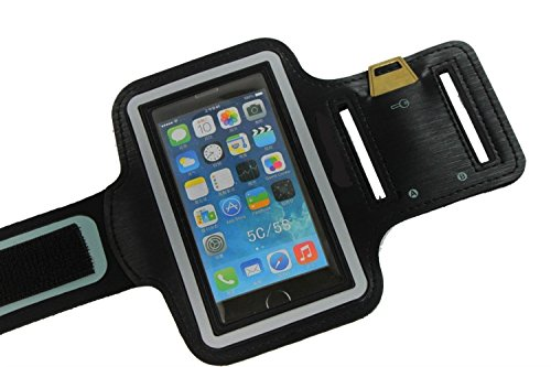 Tuff Togs Cell Phone Armband for iPhone 5 Protect During Sport (Running Cycling+) from Sweat Rain Snow Dust