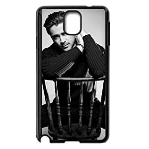 colin farrell sitting on chair Samsung Galaxy Note 3 Cell Phone Case Black yyfD-036048