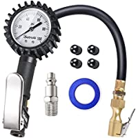 AstroAI Upgraded 100 PSI Tire Inflator with Pressure Gauge