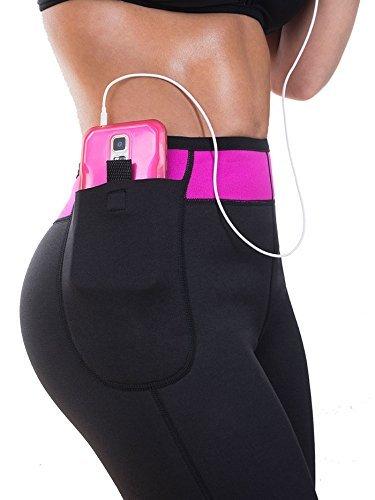 Womens' Anti Cellulite Weight Loss Shorts Hot neoprene Body Shaper Pants (Large, - Neoprene Reviews Pants